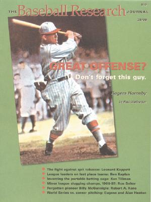 The Baseball Research Journal (BRJ), Volume 28 Cover Image