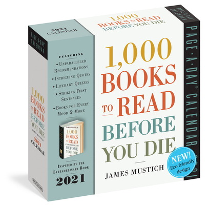 1,000 Books to Read Before You Die Page-A-Day Calendar 2021 Cover Image