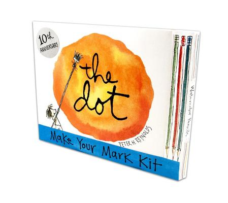 The Dot: Make Your Mark Kit [With 6 Watercolor Pencils and Blank Book] Cover Image