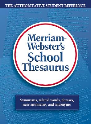 Webster's School Thesaurus Cover Image