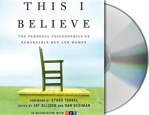 This I Believe Cover