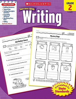 Scholastic Success with Writing, Grade 2 Cover Image