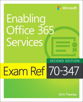Cover for Exam Ref 70-347 Enabling Office 365 Services