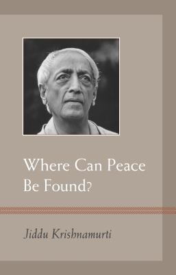 Where Can Peace Be Found? Cover