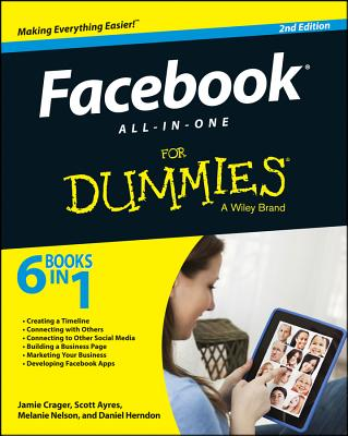 Facebook All-In-One for Dummies Cover Image