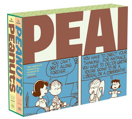 The Complete Peanuts 1959-1962: Vols. 5 & 6 Gift Box Set - Paperback Cover Image