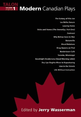 Modern Canadian Plays Cover Image