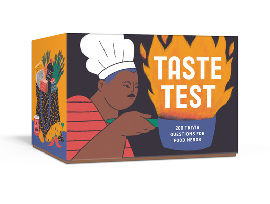 Taste Test: 200 Trivia Questions for Food Nerds: Card Games