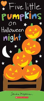 Five Little Pumpkins on Halloween Night Cover Image