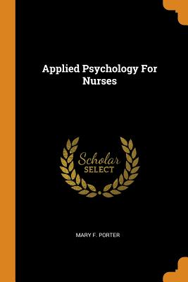 Applied Psychology for Nurses Cover Image