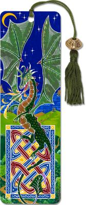 Dragon Beaded Bookmark Cover Image