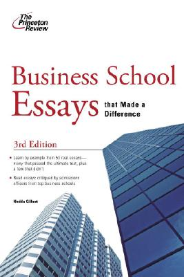 Business School Essays that Made a Difference, 3rd Edition Cover