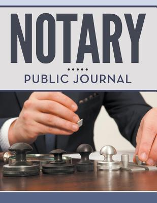 Notary Public Journal Cover Image