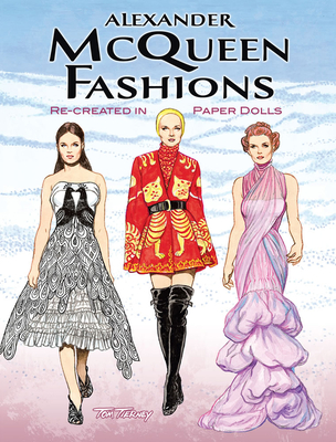 Alexander McQueen Fashions: Re-Created in Paper Dolls (Dover Paper Dolls) Cover Image