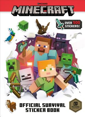 Minecraft Official Survival Sticker Book (Minecraft) Cover Image
