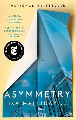 Asymmetry: A Novel Cover Image