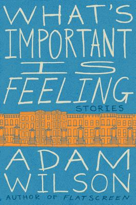 What's Important Is Feeling: Stories Cover Image