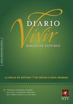 Biblia de Estudio del Diario Vivir-Ntv Cover Image