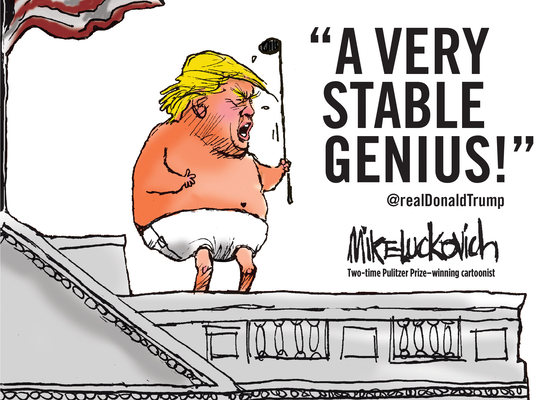A Very Stable Genius Cover Image