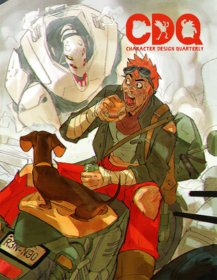 Character Design Quarterly 8 Cover Image