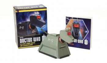 Doctor Who: K-9 Light-and-Sound Figurine and Illustrated Book (RP Minis) Cover Image