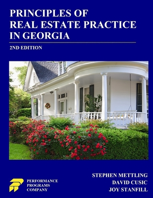 Principles of Real Estate Practice in Georgia: 2nd Edition Cover Image