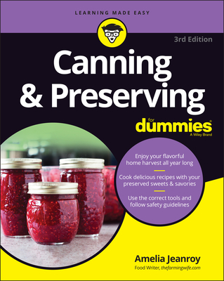 Canning & Preserving for Dummies Cover Image
