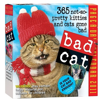 Bad Cat Page-A-Day Calendar 2011 Cover Image