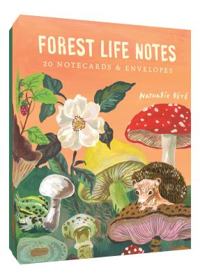 Forest Life Notes: 20 Notecards & Envelopes (Cute Office Supplies, Cute Desk Accessories, Back to School Supplies) Cover Image