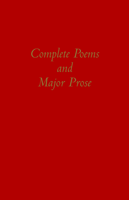 Cover for Complete Poems and Major Prose