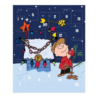Peanuts Holiday Advent Calendar Cover Image