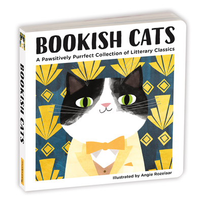 Bookish Cats Board Book Cover Image