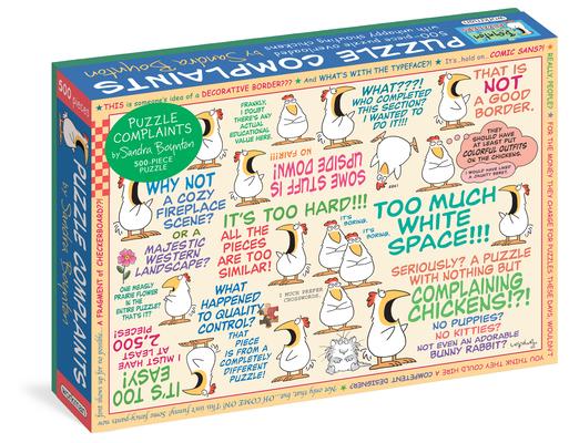 Sandra Boynton: Puzzle Complaints 500-Piece Puzzle (Workman Puzzles) Cover Image