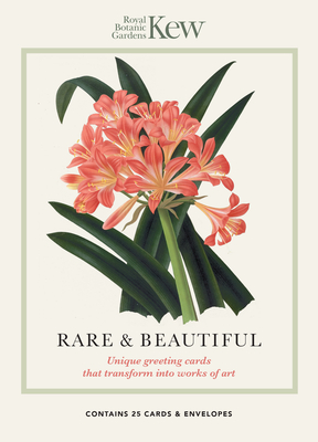 Kew - Rare and Beautiful Greeting Cards: Unique Greeting Cards That Transform Into Works of Art Cover Image