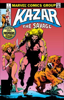 Ka-Zar the Savage Omnibus Cover Image