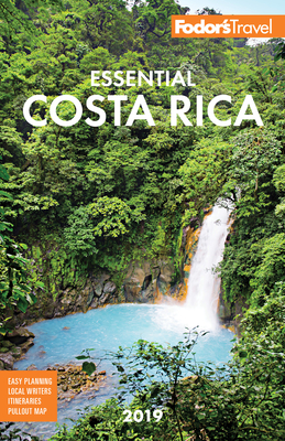 Fodor's Essential Costa Rica 2019 (Full-Color Travel Guide #19) Cover Image