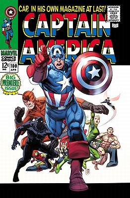 Captain America Omnibus - Volume 1 Cover