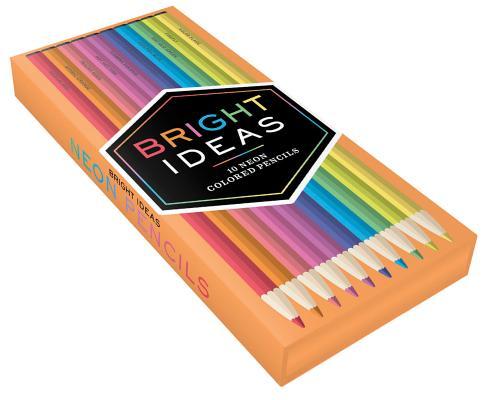 Bright Ideas Neon Colored Pencils Cover Image