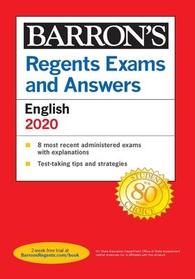 Regents Exams and Answers: English 2020 (Barron's Regents NY) Cover Image