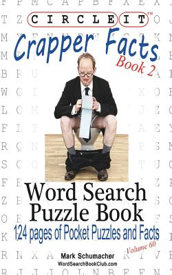 Circle It, Crapper Facts, Book 2, Word Search, Puzzle Book Cover Image