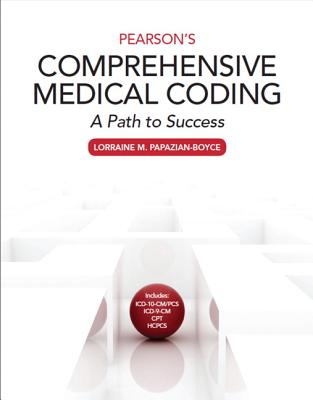 Pearson's Comprehensive Medical Coding: A Path to Success Cover Image