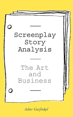 Screenplay Story Analysis Cover Image
