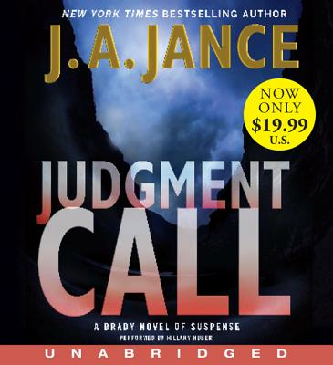 Judgment Call Low Price CD: A Brady Novel of Suspense Cover Image