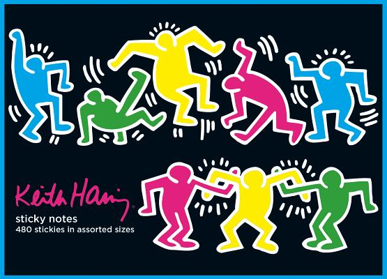 Keith Haring Sticky Notes Cover Image