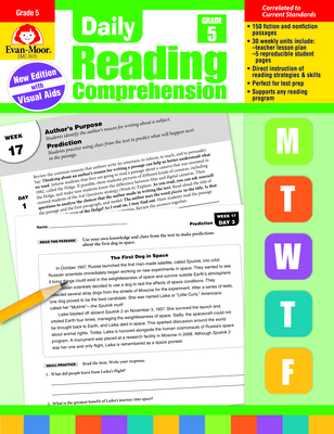 Daily Reading Comprehension, Grade 5 Cover Image