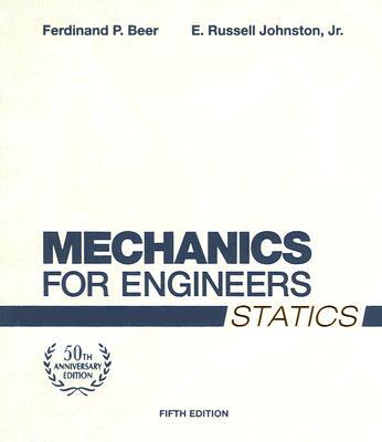 Mechanics for Engineers, Statics Cover Image