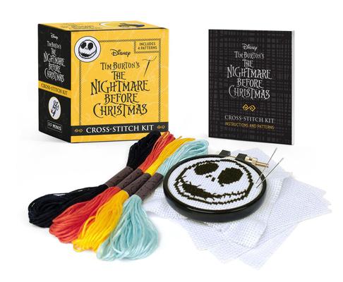 Disney Tim Burton's The Nightmare Before Christmas Cross-Stitch Kit (RP Minis) Cover Image