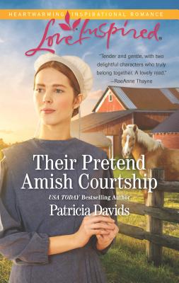 Cover for Their Pretend Amish Courtship (Amish Bachelors)