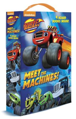 Meet the Machines! (Blaze and the Monster Machines): 4 Board Books Cover Image