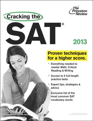 Cracking the SAT, 2013 Edition Cover